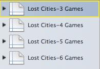 Lost Cities Scoring Template 3