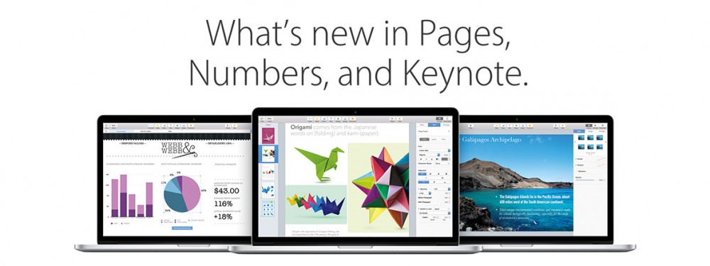 What's New in iWork