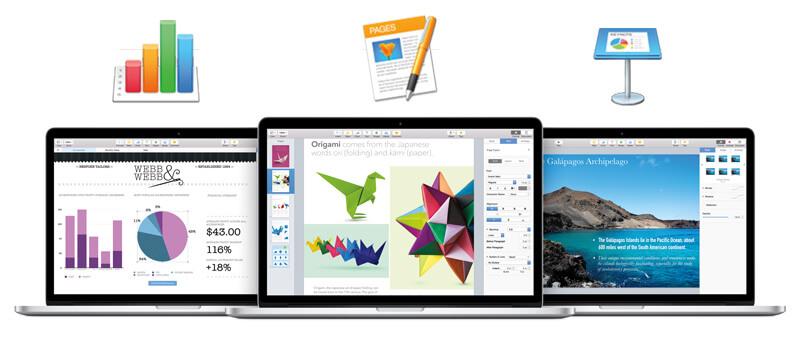 iWork for OS X Yosemite