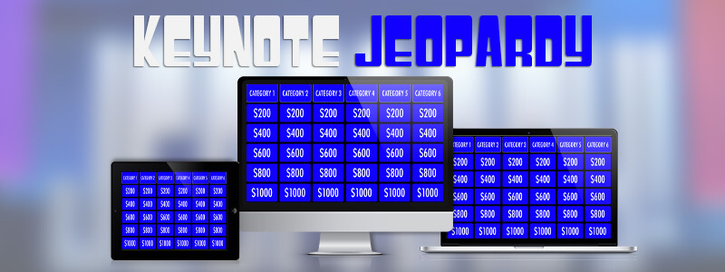Jeopardy Template For Keynote  MactemplatesCom