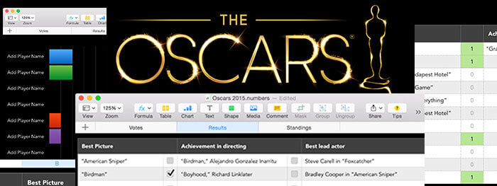 Oscars Party Template