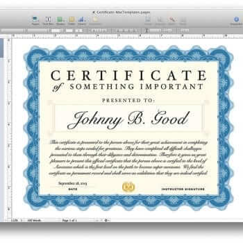 gift certificate template for mac - gift certificate template for mac search results