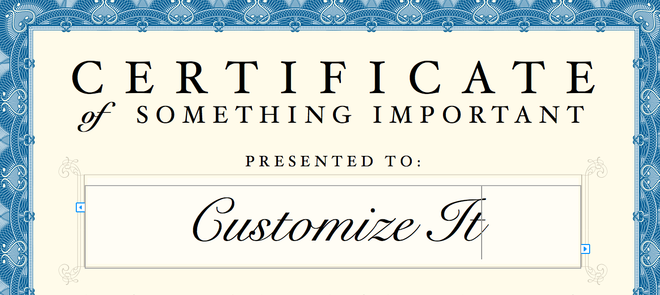 Vector Beautiful Certificate Templates 2 Free Vector 4Vector – Word Template Certificate