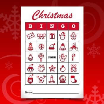 Christmas Bingo - MacTemplates.com