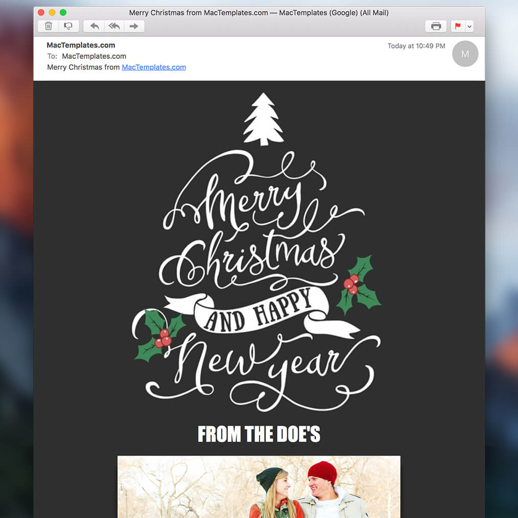 Image Result For Template Christmas Card Powerpoint