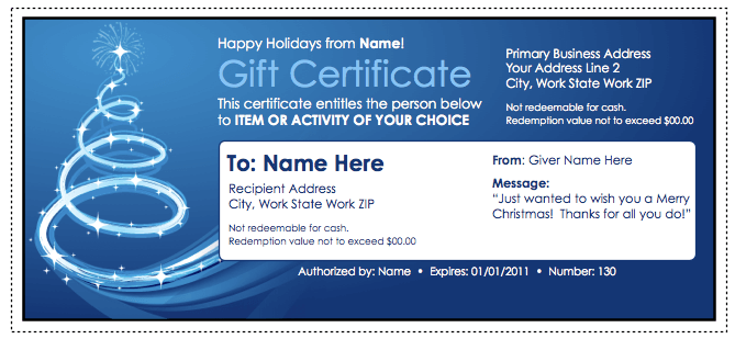 Gift check template cerescoffee gift check template yadclub Gallery