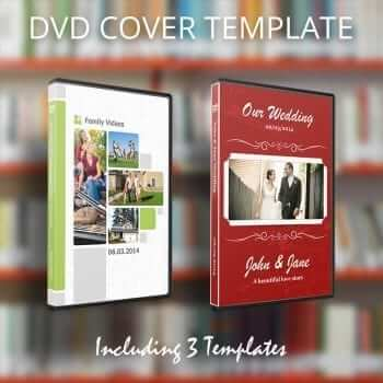 DVD Cover Template for Pages