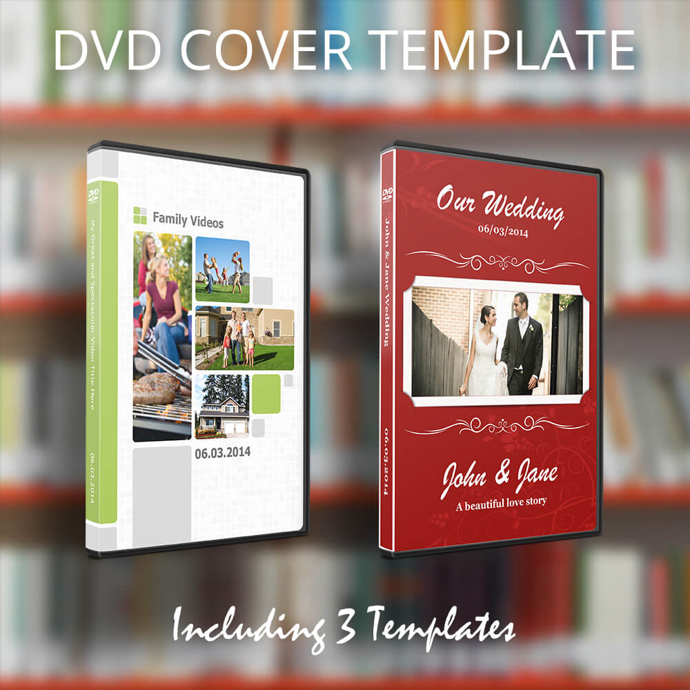 DVD Cover Template for Pages  MacTemplates