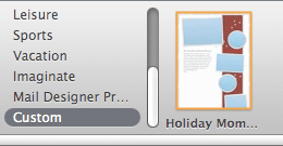 Apple Mail Holiday Stationary Thumb