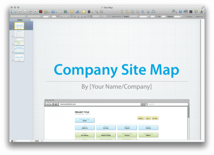 Site Map Presentation 7
