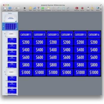 PowerPoint Jeopardy Template 9