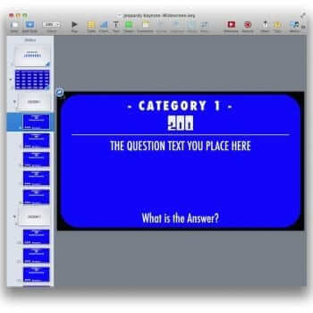 PowerPoint Jeopardy Template 11