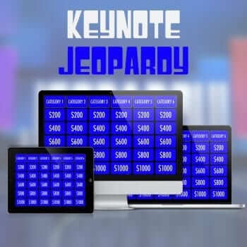 Keynote Jeopardy Template from MacTemplates.com