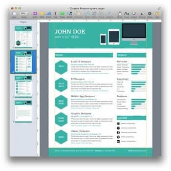 Creative Resume Template 12