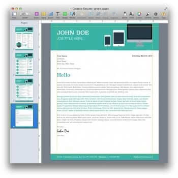 Creative Resume Template 14