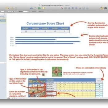 Scoring Sheet Instructions