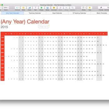 Mac Templates for Pages, Numbers, Keynote, and more! 11